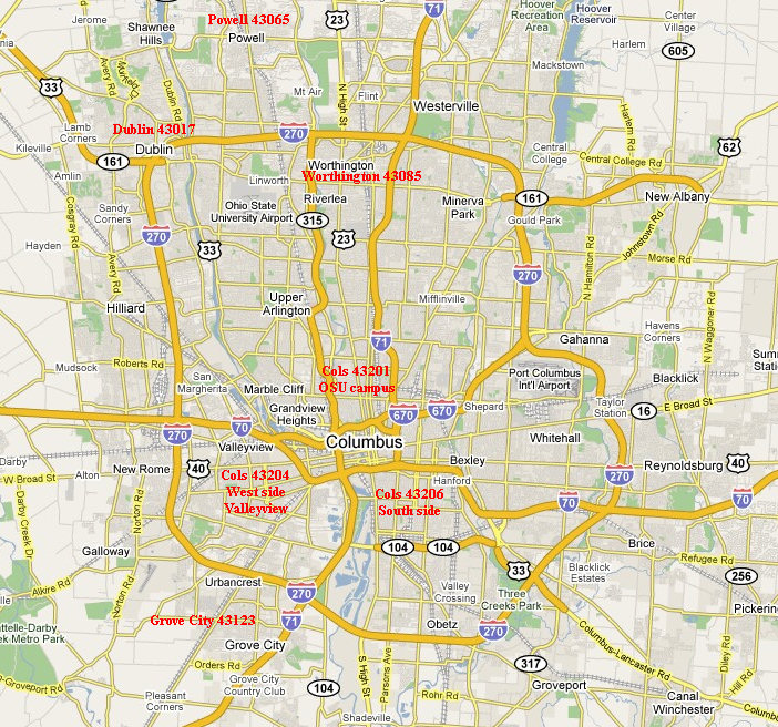 Homes For Rent In Columbus Ohio Including Worthington Powell